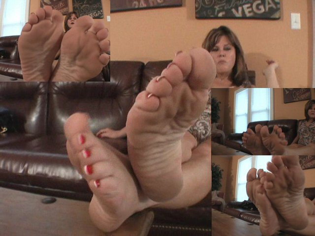 Foot fetish soles toes footjob handjob simulation 7