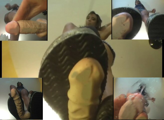 Dirty flip flop foot worship